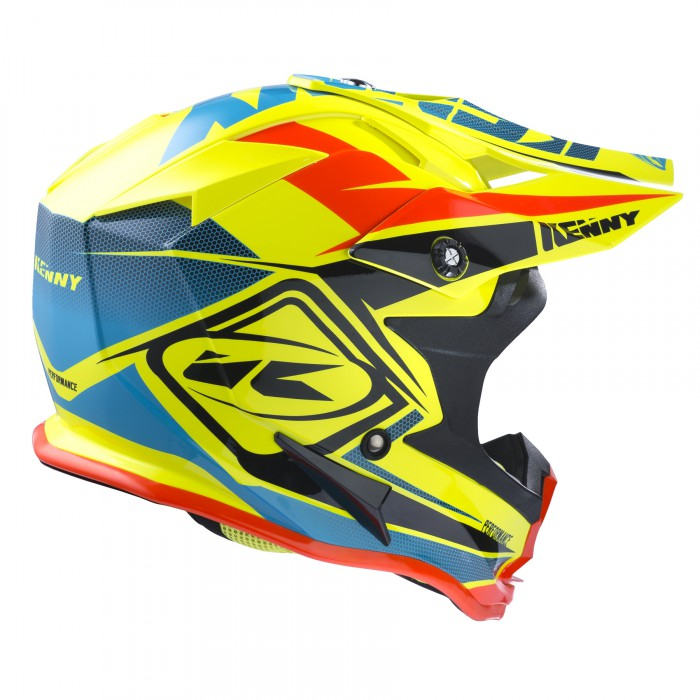 Casque cross KENNY KID performance 2017 - Casque enfant ...