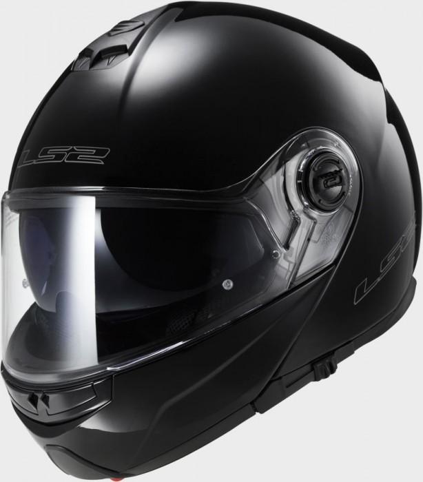 casque ls2 modulable strobe noir casque int gral access 39 bike. Black Bedroom Furniture Sets. Home Design Ideas