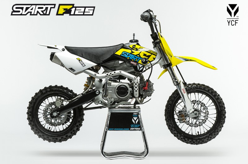 dirt ycf 125 r start dirt bike access 39 bike. Black Bedroom Furniture Sets. Home Design Ideas